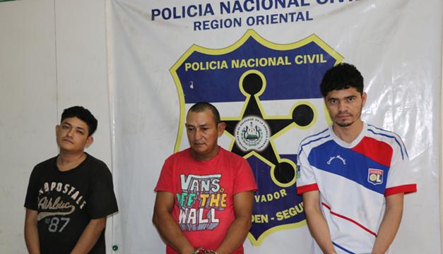 Sujetos detenidos-San Miguel