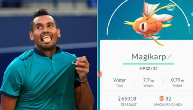 Tenista-Pokemon GO