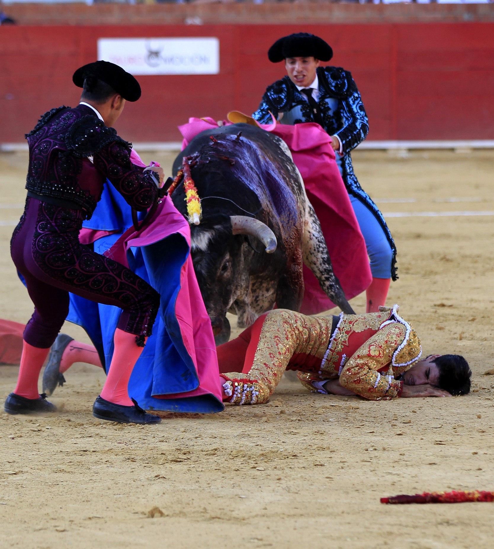 GRA313. TERUEL, 09/07/2016.- El torero segoviano de 29 años Víctor Barrio ha fallecido esta tarde en la plaza de toros de Teruel, en la Feria del Ángel, tras sufrir una grave cogida en el tercer toro de la tarde. EFE/Antonio García
