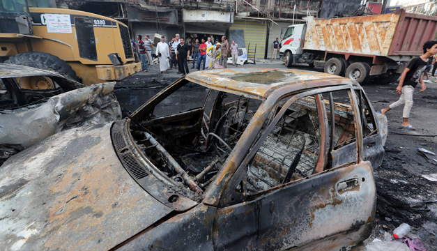 atentado en irak-efe