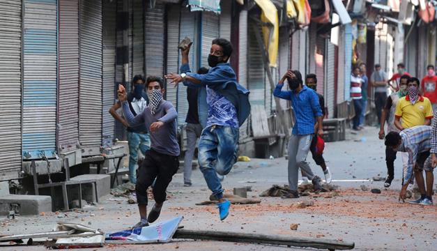 manifestacion en india-efe