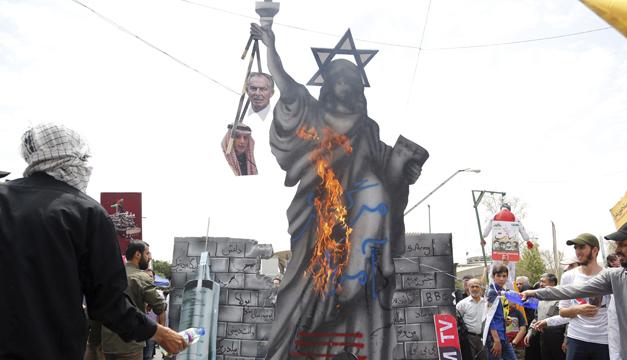 manifestacion iran-efe2