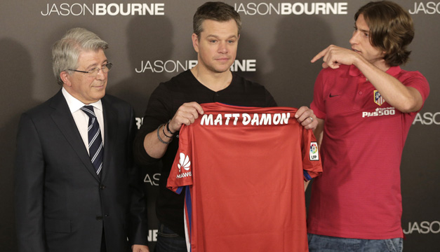 matt damon-efe atletico