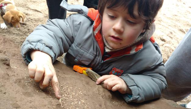 nino fosil argentina-efe