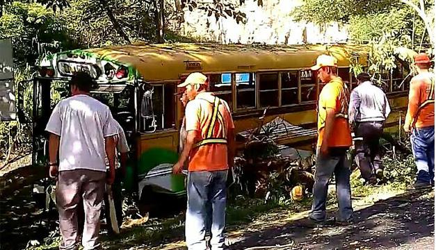 Escena de un accidente de tránsito. Fotografía: DEM