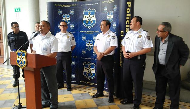 Autoridades policiales