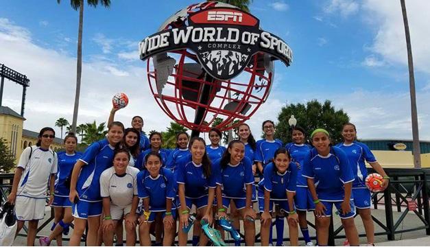 Fotografía: Selección femenina Sub-15. /Cortesía Fesfut