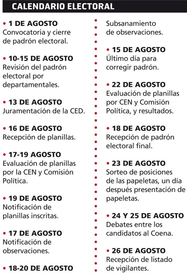 Calendario-electoral
