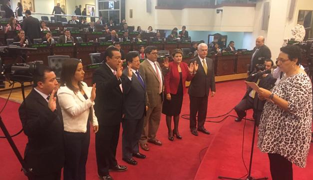 Diputados que integrarán la comisión.