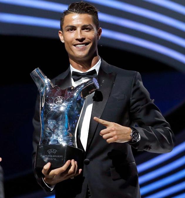Cristiano Ronaldo elegido mejor jugador de Europa 2015-16 - Diario ... d920991e0d8b1