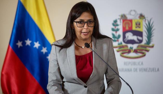 Delcy-Rodriguez-Canciller-Venezuela