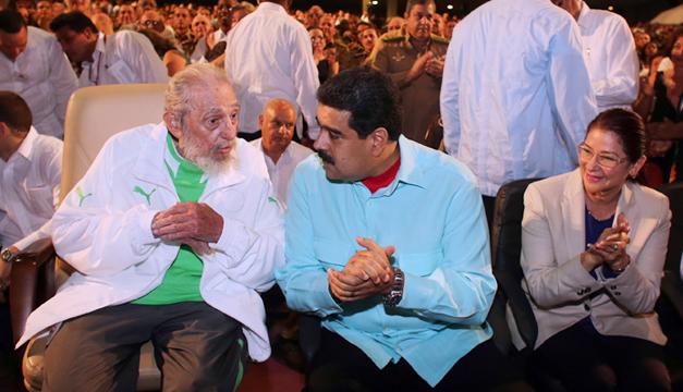 Fidel-Castro-Nicolas-Maduro