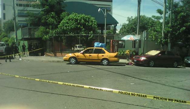 Escena de homicidio. Foto: Wilson Urbina (DEM).