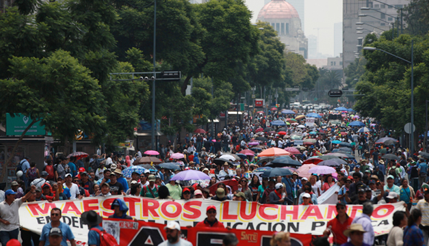 Mexico-protesta-de-maestros