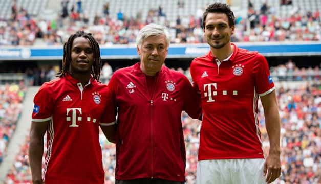 Renato-Sanches-Carlo-Ancelotti-Matt-Hummels