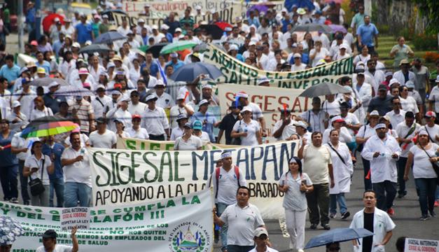 Sigesal-protesta-Minsal