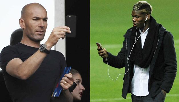 Zidane-Pogba