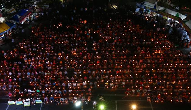 manifestacion corea del sur-efe