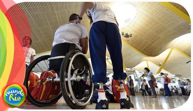 Villa Paralímpica abre sus puertas con la llegada de los primeros deportistas