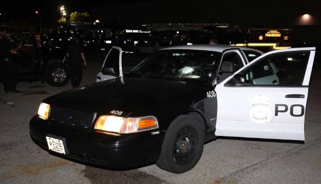 policia de Milwaukee-twitter