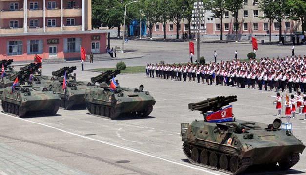 tanque corea del norte-xinhua