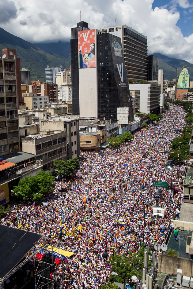 Marcha-en-Venezuela