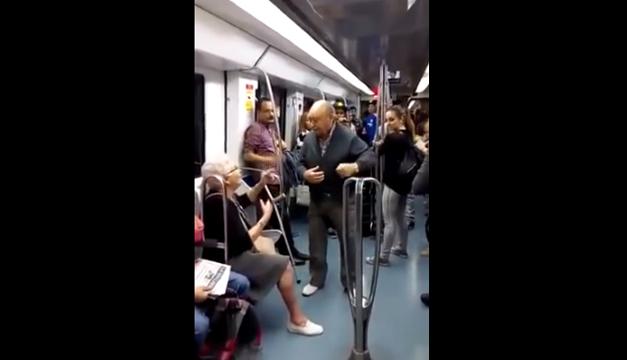 pareja-metro