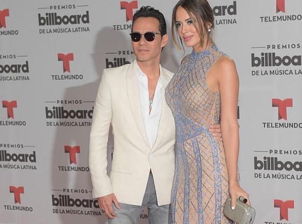 Captan a Shannon De Lima con ex en show de Marc Anthony