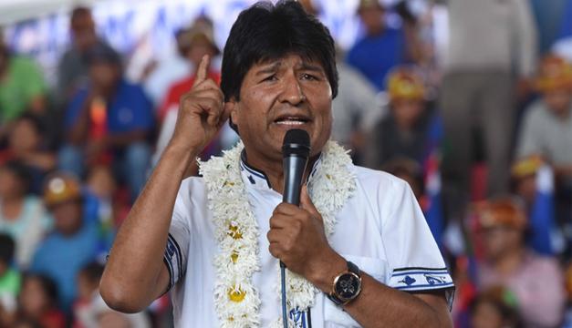 Evo Morales acepta postularse por tercera vez a la presidencia de Bolivia