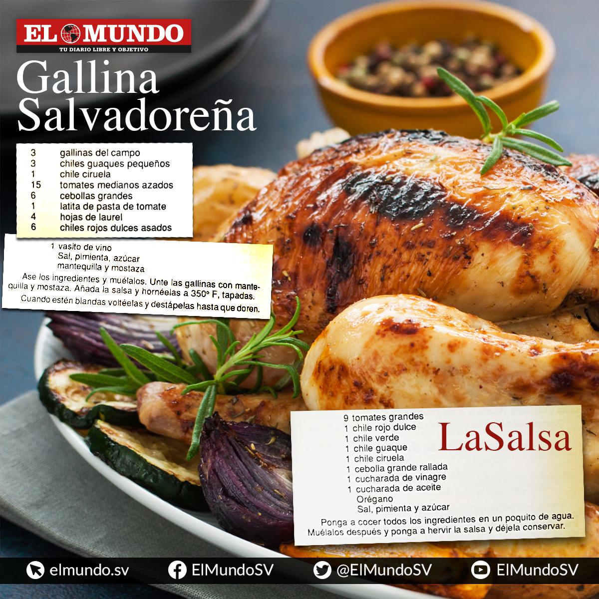 Recetas de comida navidena salvadorena