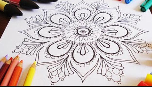 Mandalas, La Tradición Convertida En Pinta Y Colorea Que
