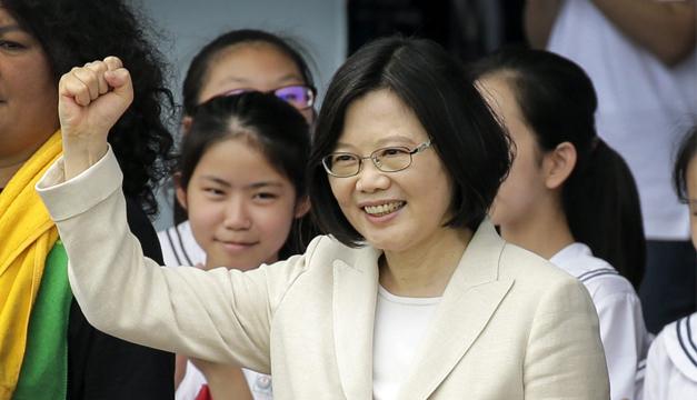 Presidenta de Taiwán inicia gira por Centroamérica