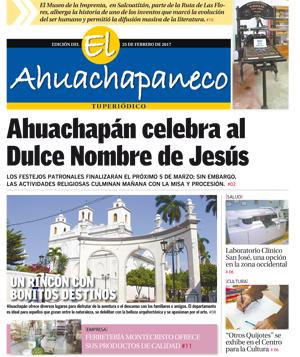 Suplemento Ahuachapán