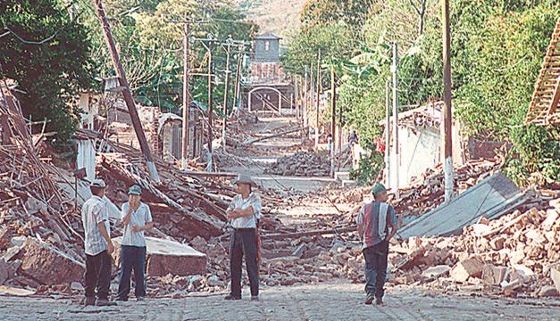 Resultado de imagen para terremoto de 2001 febrero