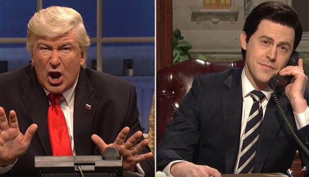 SNL Parodia la llamada entre EPN y Trump