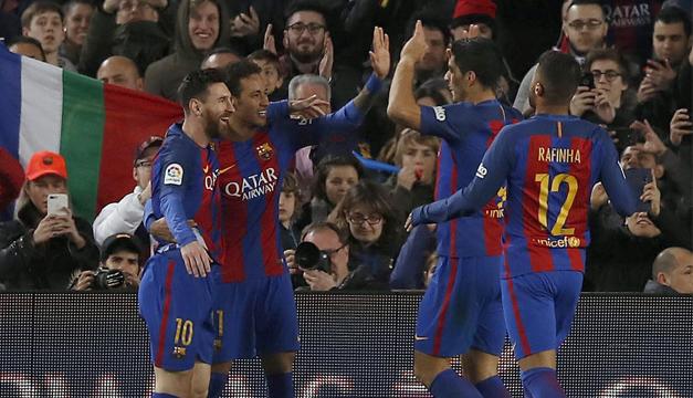 Después del milagro, Barcelona cayó por la Liga