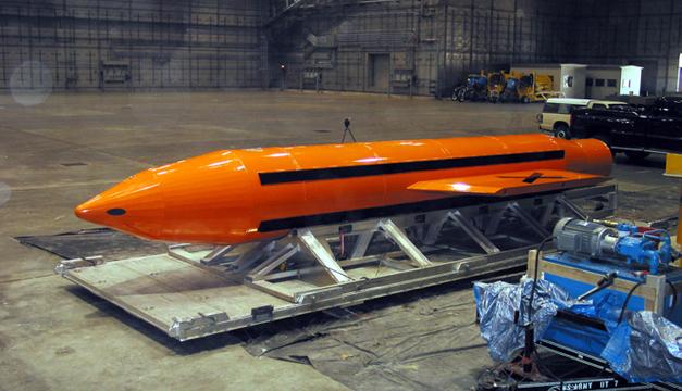 Difunden el video del lanzamiento de la súper bomba
