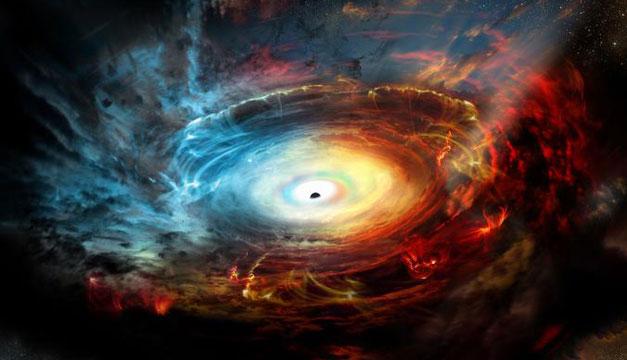 Fotografiaron por primera vez un agujero negro