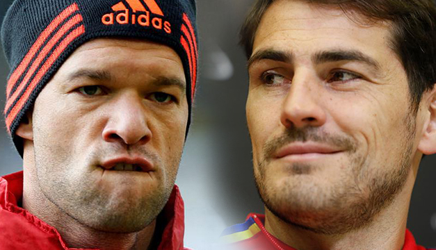 Así encienden Casillas y Ballack la previa del Madrid-Bayern