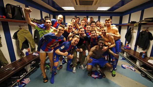 Un hincha del Real Madrid festejó el gol de Messi