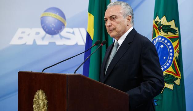 Supremo Tribunal autoriza investigar al presidente de Brasil
