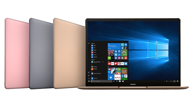 Huawei lanza tres portátiles con Windows 10