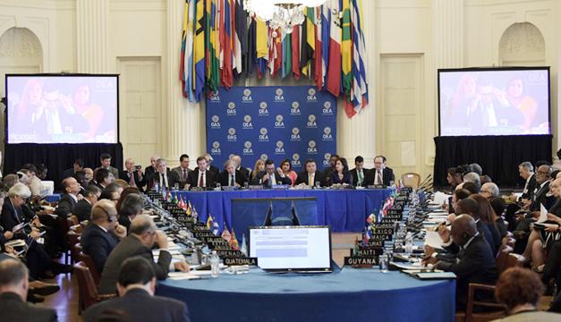 Defenderé los derechos de Venezuela en Cancún — Delcy Rodríguez
