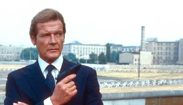 Fallece Roger Moore, el superagente James Bond