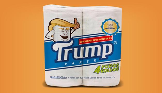 Mexicano crea papel higiénico marca