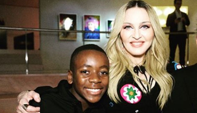 Uno de los hijos de Madonna entrena con un equipo europeo