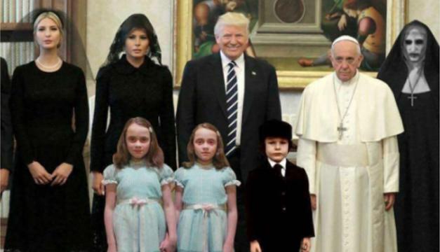 Trump y papa hablaron sobre paz mundial