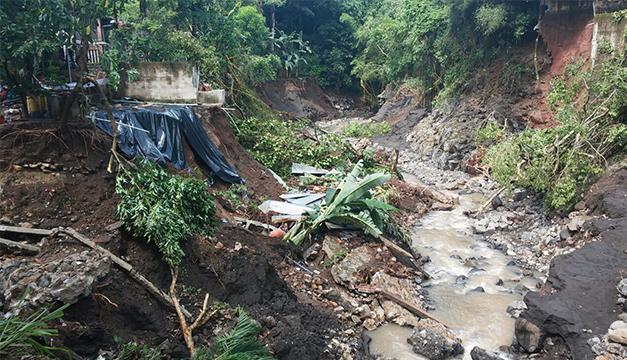 Tres muertos en El Salvador a causa de las lluvias