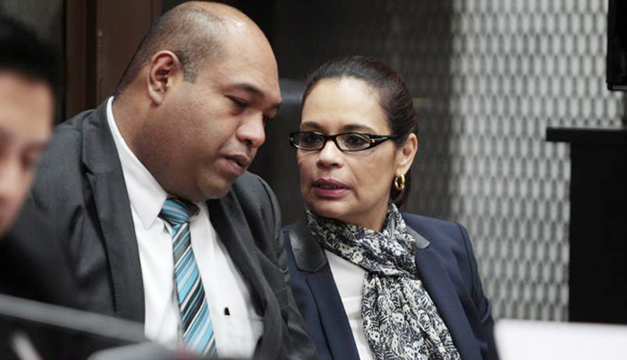 Roxana Baldetti acepta la extradición a Estados Unidos