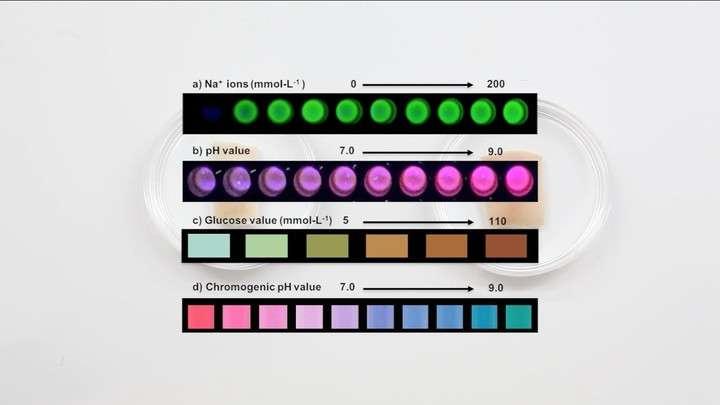Un tatuaje cambia de color cuando varían los niveles de glucosa